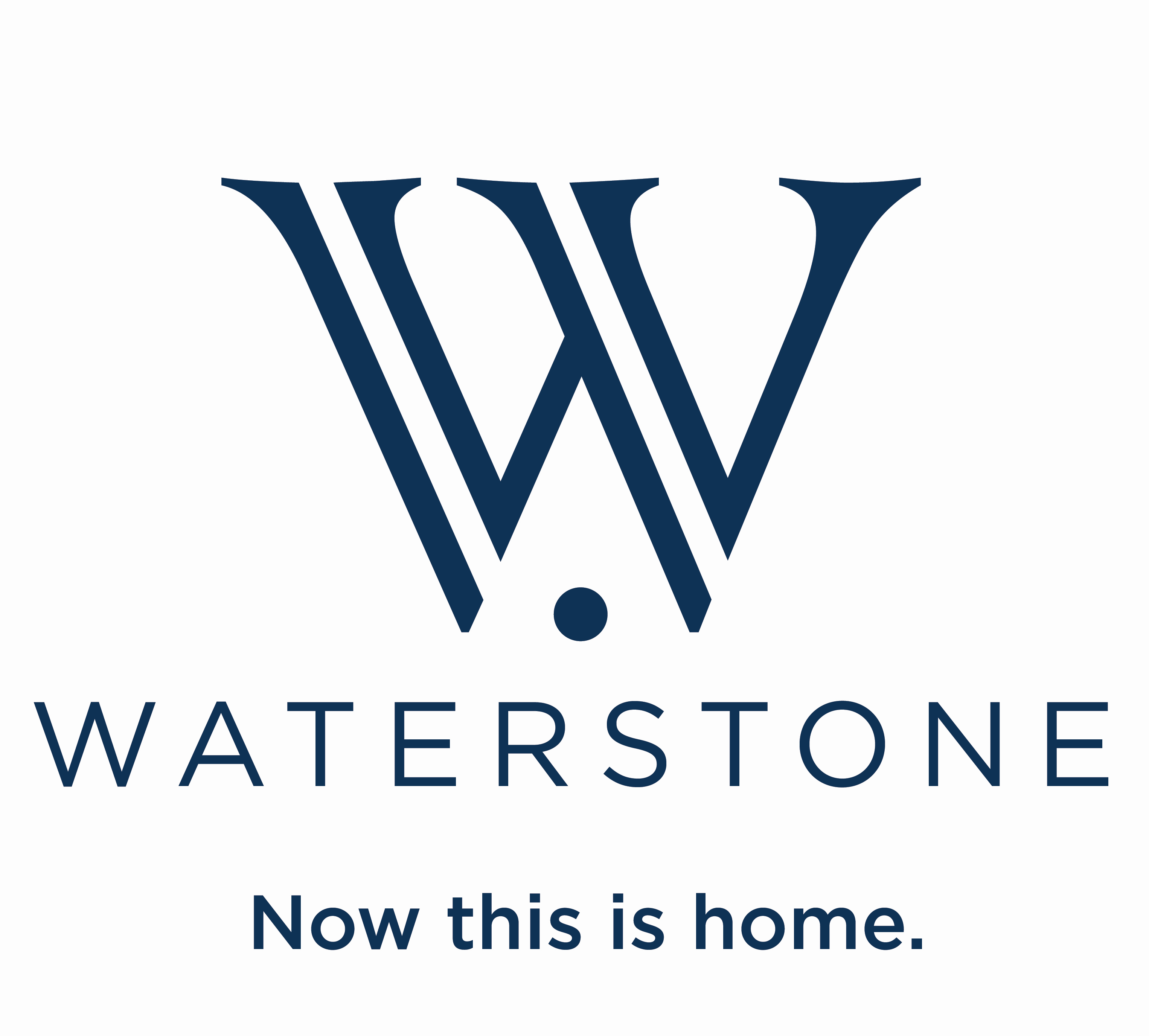Waterstone Now This Is Home Logo